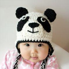 Panda Hat, Panda Bear,