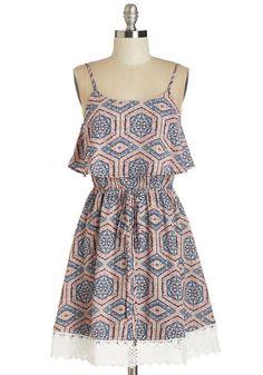 Dabble in Drollery Dress | Mod Retro Vintage Dresses | ModCloth.com