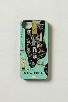Big Apple iPhone 5 Case #anthropologie