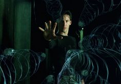 Keanu Reeves as Neo in The Matrix Keanu Reeves John Wick, Keanu Charles Reeves, Keanu Reeves Matrix, Ray Kurzweil, The Matrix Movie, Man In Black, Movies To Watch, You Changed, Futuristic