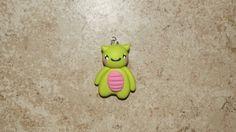 Polymer Clay Little Kawaii Monster Charm by CreativityByCarol, $4.00