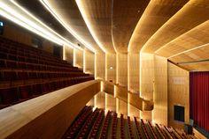Teatro Kunstcluster / van Dongen-Koschuch. Nieuwegein, Holanda