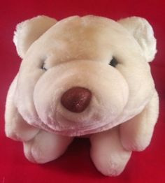 """Gotta Get a Gund! Enjoy this rare and collectible GUND Vintage SNUFFLES Plush White Polar Bear. He is 11"""" long and super soft. Excellent condition! Perfect for the Gund stuffed bear collector. Or, give it as a gift to someone you love. :)"""
