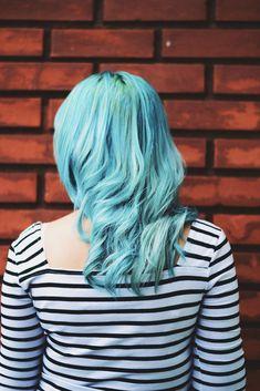 Como pintar o cabelo de azul | Jess Vieira