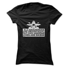 Awesome Grandma Bikers Tee T Shirt | Unique grandmother gifts Best gifts for grandma and Gift ideas for grandma birthday #grandma #grandmother, #grandparents #mom #mothersday #biker