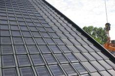 Geïntegreerde dakpan zonnepanelen