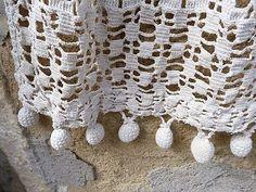 """Résultat de recherche d'images pour """"tassels crochet curtains"""""""