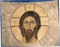 Св. Керамидион Фреска собора Спаса Преображения Мирожского монастыря во Пскове ок. 1140