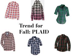 """Trend for Fall: PLAID!"" by thestylebarn on Polyvore"
