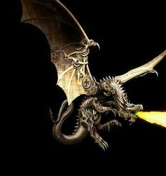 LOVING this steampunk style ♥ #dragons