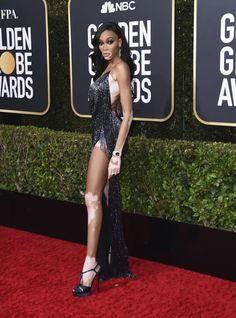 There are so many amazing styles and designers and we all are fascinated with the red carpet outfits at the Golden Globe . Golden Globe Award, Golden Globes, Hollywood Fashion, Old Hollywood Glamour, Bold Fashion, Natalie Morales, Margaret Qualley, Rose Leslie, Natasha Lyonne