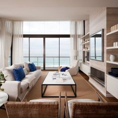 GREAT LIVING ROOMS: The Royal Penthouse II by Coco Republic Interior Design. 8/6/2012 via @Contemporist .com
