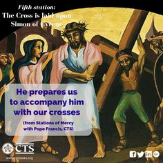 Fifth Station of #Mercy #Lent2016 #Cross
