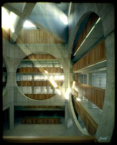 Louis Kahn, Exeter Library (Yale) YOU have to go and see this building in person