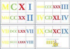 Libro números romanos
