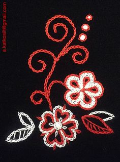 Embroidery Diy Crafts, Embroidery, Flowers, Art, Needlepoint, Art Background, Make Your Own, Kunst, Homemade