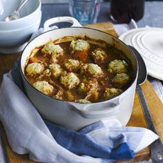 Slow cooker beef stew with dumplings - Slow Cooker Recipes - Good Housekeeping
