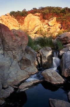 The Falls, Penasquitos Canyon Preserve, in San Diego.