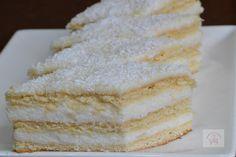 Prajitura Alba ca zapada - CAIETUL CU RETETE Vanilla Cake, Desserts, Food, Tailgate Desserts, Deserts, Essen, Postres, Meals, Dessert