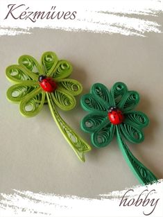 Quilling, Brooch, Floral, Flowers, Bedspreads, Brooches, Florals, Florals, Quilting