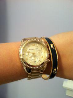 Vineyard Vines Bracelet with a pretty watch!