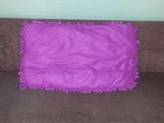 Small purple bed