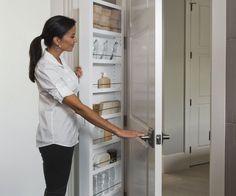 1000 Ideas About Behind Door Storage On Pinterest Door