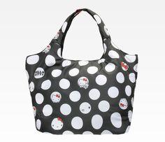 118a22adce85 Hello Kitty Stuffed Large Tote Bag  Dots Hello Kitty Bag