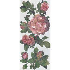 #Bisazza #Decori 1x1 cm Springrose Bianco B | #Glass | on #bathroom39.com at 2905 Euro/box | #mosaic #bathroom #kitchen