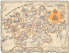 Image result for map of ansalon