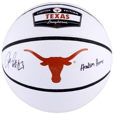 LaMarcus Aldridge Texas Longhorns Fanatics Authentic Autographed White Panel Basketball with Hook Em Horns Inscription - $229.99