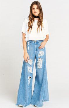 159595ccde5 San Fran Super Flare ~ Breakwater. Bell Bottom PantsBell BottomsWide Leg DenimGirls  JeansStreet OutfitClassy DressFlare JeansAmazing OutfitsCool Outfits