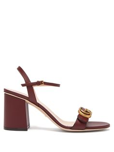 32b794aebe7cf0 GG Marmont leather sandals