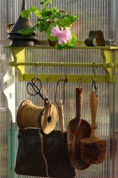 Ruusunmekko garden's greenhouse 'Verstas' in May 2014