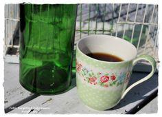 Havets Sus, Greengate, coffee, coffeecup, my garden