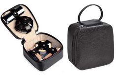 Shoe Shine Kit. Compact and portable. Perfect for travel. Great gift idea!