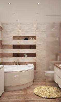 Яркая квартира для молодой семьи - 3D-проект компактного пространства | PINWIN - конкурсы для архитекторов, дизайнеров, декораторов