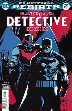 DC Universe Rebirth Batman Detective Comics issue 962 Limited variant