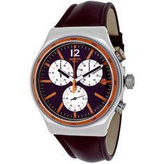 Swatch Men's YVS413 Prisoner Round Strap Watch
