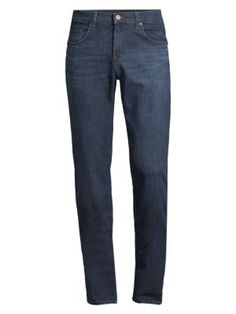 J Brand Kane Slim-fit Straight-leg Jeans In Bellus J Brand, Slim, Mens Fashion, Legs, Fitness, Cotton, Shopping, Clothes, Style