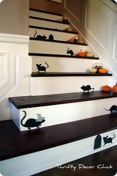 mice on the stairs