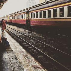 Planning my next weekend adventure. Bangkok Travel, Bangkok Thailand, Thailand Travel, Places In Bangkok, Weekend Trips, Southeast Asia, Railroad Tracks, Train, Explore