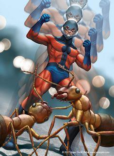 #Ant #Man #Fan #Art. (Ant Man) By:Jasonjuta. ÅWESOMENESS!!!™ ÅÅÅ+