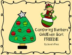 *FREEBIE* Comparing numbers and odd/even sort.