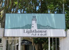 Lighthouse Pub & Grill, Kommetjie, Cape Town Cape Town, Lighthouse, Grilling, Restaurants, Broadway Shows, Van, Bell Rock Lighthouse, Light House, Restaurant