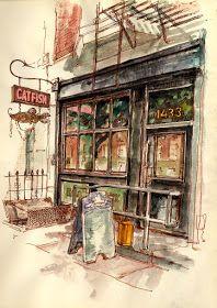 Urban Sketchers: Crown Heights