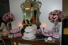 Chá da Noiva: Chá Luxo rosa