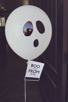 Boo to You - leave a special Halloween surprise on someone's doorstep!