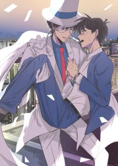- - Page 2 - Wattpad Boys Anime, Cute Anime Boy, Cute Anime Couples, Manga Anime, Conan Comics, Detektif Conan, Magic Kaito, Anime Couple Kiss, Detective Conan Shinichi