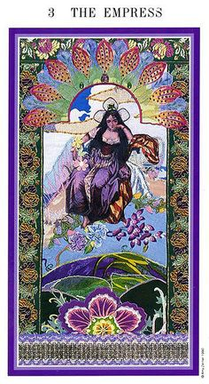 III. The Empress - Zerner-Farber Tarot by Amy Zerner, Monte Farber